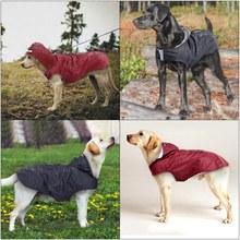 Waterproof Pet Clothes Safety Rainwear Reflective Dog Raincoat Rain Jacket Jumpsuit For Small Medium Dogs Puppy Doggy