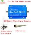 Высокое Качество GSM 900 МГц Мобильный Сотовый Телефон Усилитель Сигнала Усилителя Ретранслятора РФ Комплект содержит 10 м кабель + Sucker антенны ЕС Plug