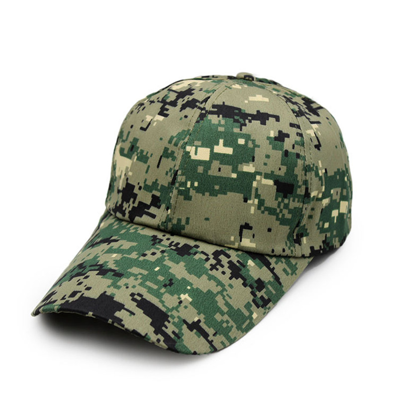 1pcs Climbing cap Military Camouflage Hats For Men Snapback Tactical Baseball Caps Paintball Combat Hunting Fishing Army Hats