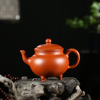 Xia Taoquan, a famous purple clay pot maker in Yixing, is a gift of traveling tea set for purple clay teapot