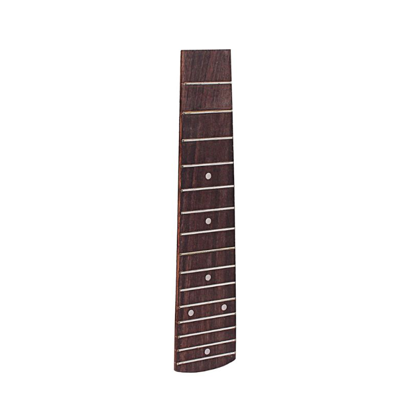 Competent Ukulele Fretboard Fingerboard Semifinished 15 Fret 211mm Dot Inlay For 21 Inch Feb14 Possessing Chinese Flavors Musical Instruments