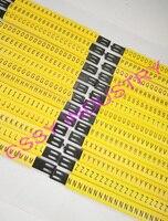 26 шт./лот бесплатная доставка MS-130mm кабель маркер линии и 4мм2 Плоские кабельные маркеры ABCDFEFGHIJKLMNOPQRSTUVWXYZ разные Буквы