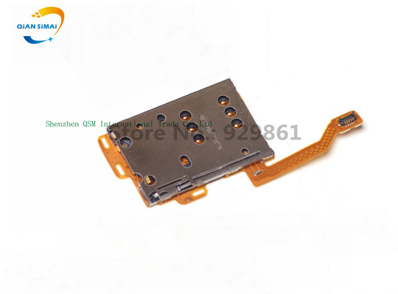 1PCS SIM Card Holder Slot Flex Cable Ribbon Repairing Part For Nokia C7 Mobile Phone