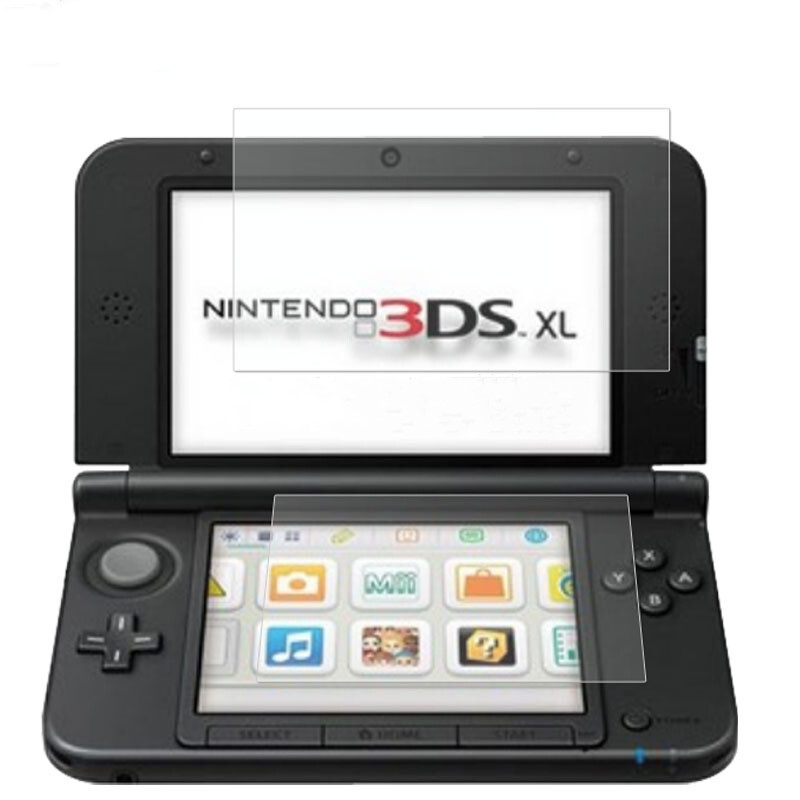 Tempered Glass For Nintendo New 3DS XL LL 3DSXL 3DSLL 3 DS UP + Down Screen Protector Game Console Protective Film Guard 1