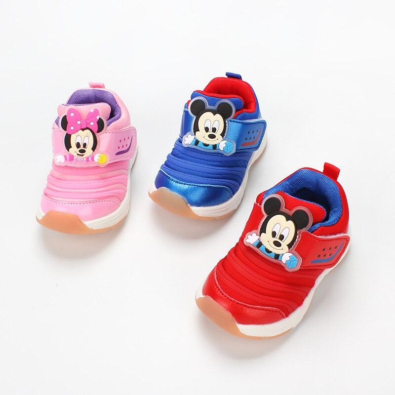 Disney bébé Caterpilla chaussures filles baskets automne 2018 Todder garçons Tenis Infantil chaussures de croissance Kinders chaussures décontractées