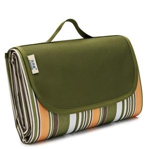 Image 4 - Водонепроницаемое пляжное одеяло, портативный коврик для пикника, напольный коврик для кемпинга, матрас для кемпинга, коврик для пикника, одеяло