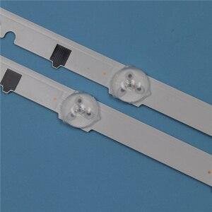 Image 5 - 9 lampen Led hintergrundbeleuchtung Streifen Für Samsung UE32F4000AW UE32F5000AK UE32F5000AW UE32F6400AK UE32F6400AW Bars Kit Fernsehen FÜHRTE Band