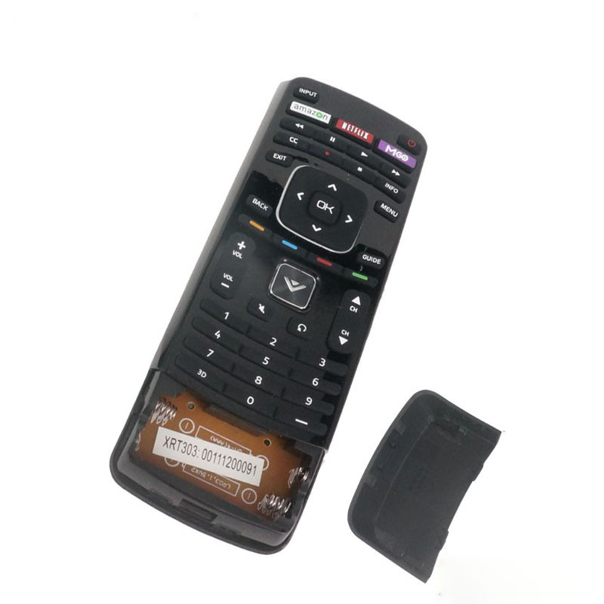 Hot sale New for VIZIO 3D XRT303 TV Remote dual side keyboard with Netflix amazon M-GO Key fernbedienung