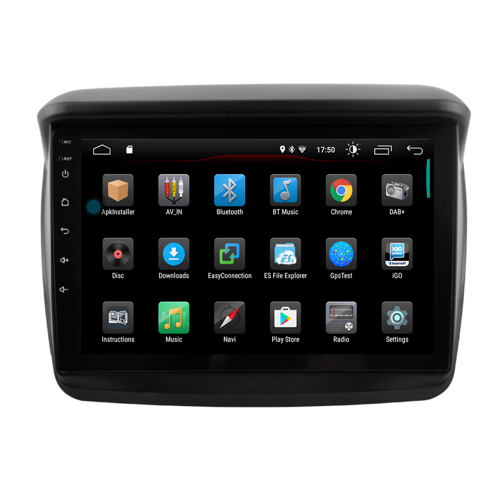 Android 9 автомобильный dvd плеер gps навигация для MITSUBISHI Montero/L200/PAJERO SPORT/Nativa радио магнитофон мультимедиа головное устройство