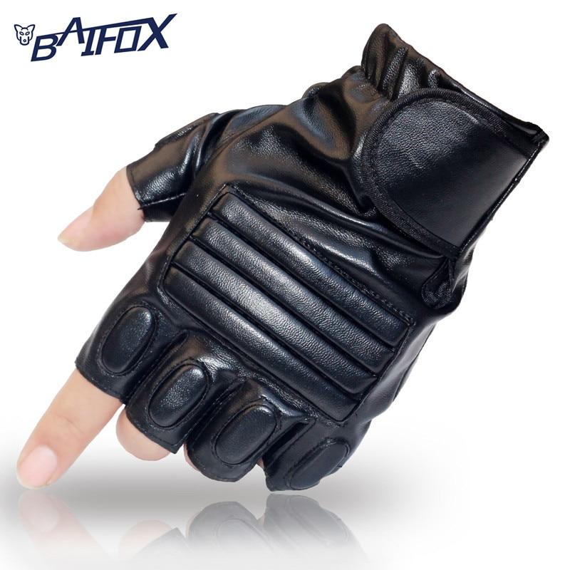 BAIFOX font b Cycling b font font b Gloves b font Half Finger Mens Women s