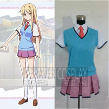 The Pet Girl of Sakurasou Sakura-sou no Petto na Kanojo Mashiro Shiina Misaki Kamiigusa Cosplay Costume