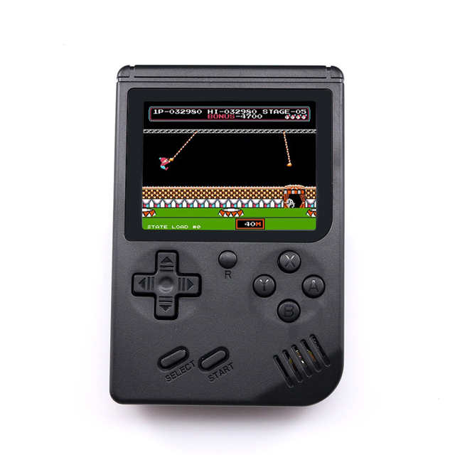 Video Game Console 8 Bit Retro Mini Pocket Handheld Game Player Built-in 168 Classic Games Best Gift for Child Nostalgic Player 2