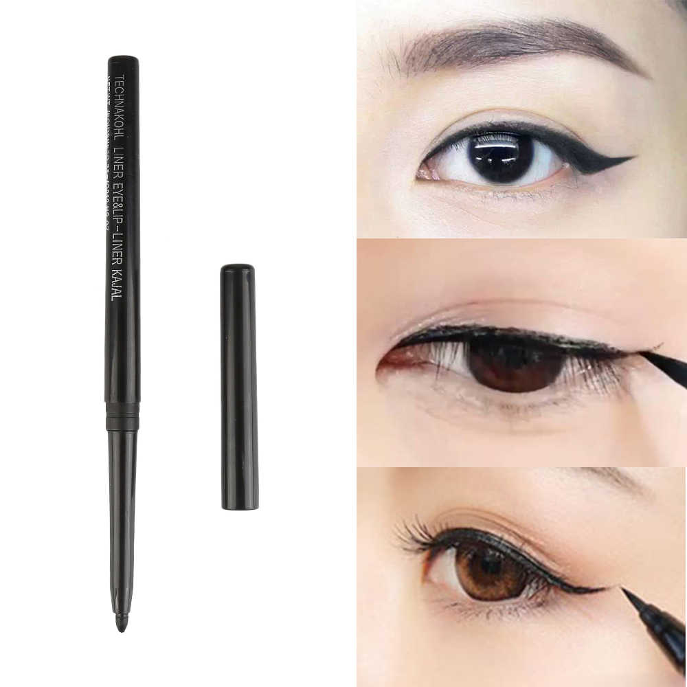 HOT Selling Eye Liner Eyebrow Makeup Pencil Black Automatic Rotation Waterproof Natural Makeup For Women Beauty Tools TSLM1