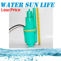 9.19 220V 250W Deep Well Cast Aluminum Submersible Well Pump Electromagnetic Water Pump