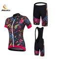 Женская одежда для велосипедистов roupa ciclismo maillot, комплект Джерси для велосипеда, женские нагрудники, короткие штаны, спортивный костюм, вело...