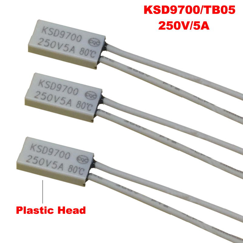 90°C KSD9700 Temperature Switch Normally Closed Thermostat Thermal Protector