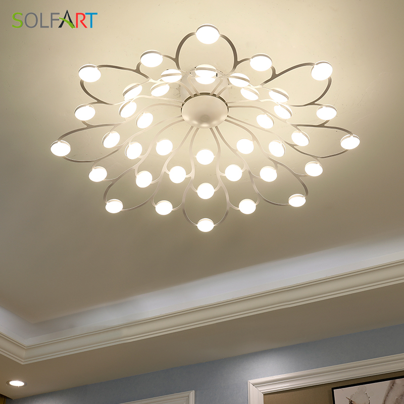 LED Ceiling Light Sconce Luminaria Chandelier Ceiling Avize Light Fixtures Modern Ceiling Lamp