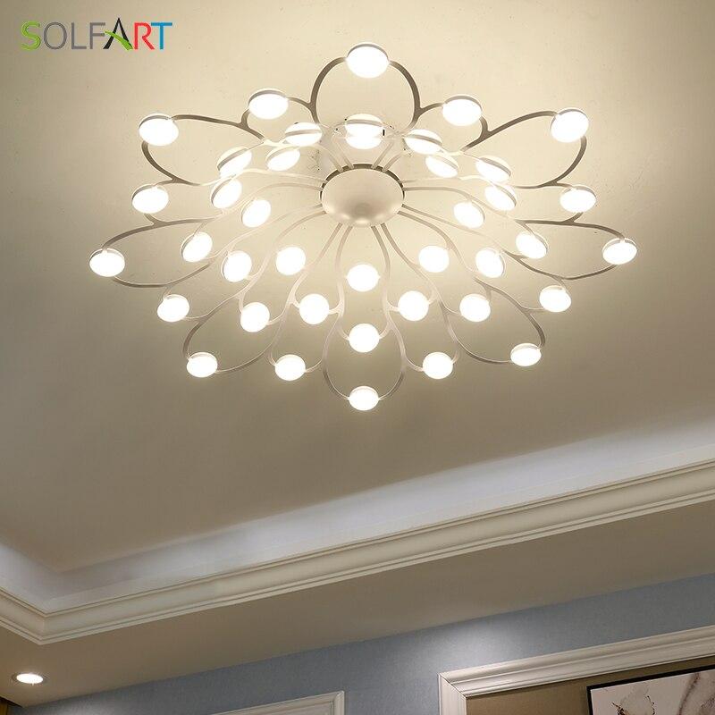 LED Ceiling Light Sconce Luminaria Chandelier Avize Fixtures Modern  Lamp
