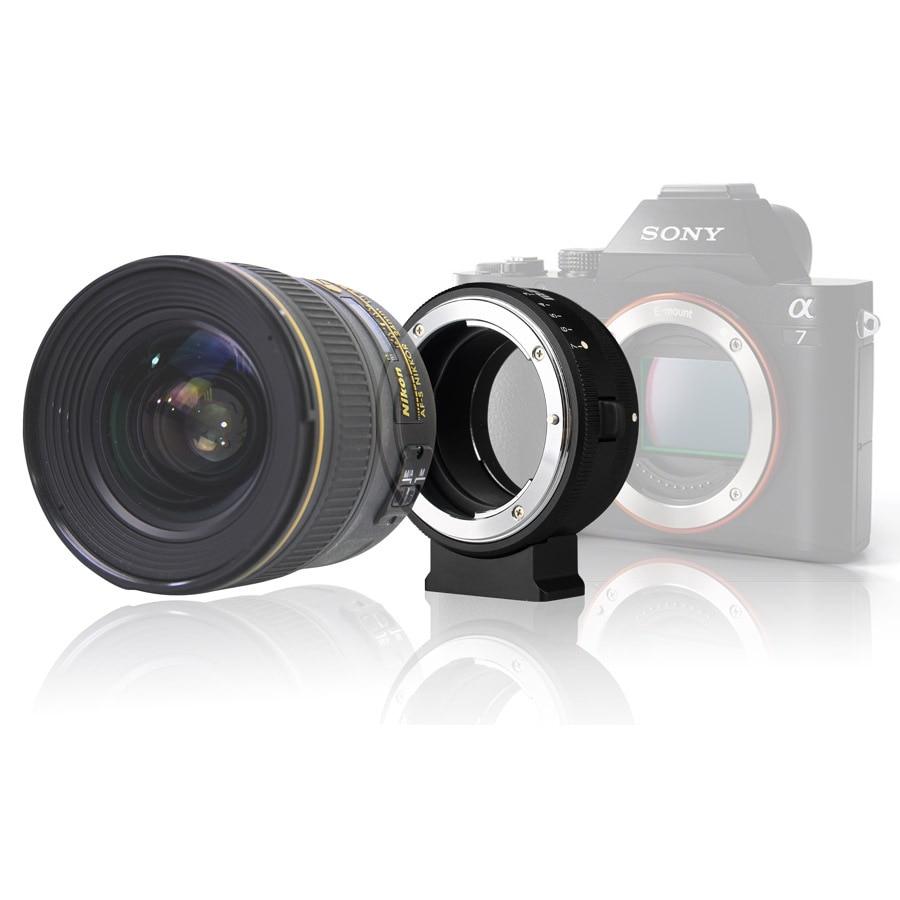 ФОТО MEKE Meike Lens Adapter Ring Mk-NF-E for Sony E-mount Camera with Nikon F-mount Lens