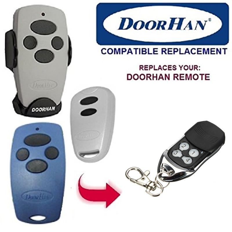 2 pcs DOORHAN Remplacement émetteur 4 Rolling Code Télécommande transmitter4 livraison gratuite