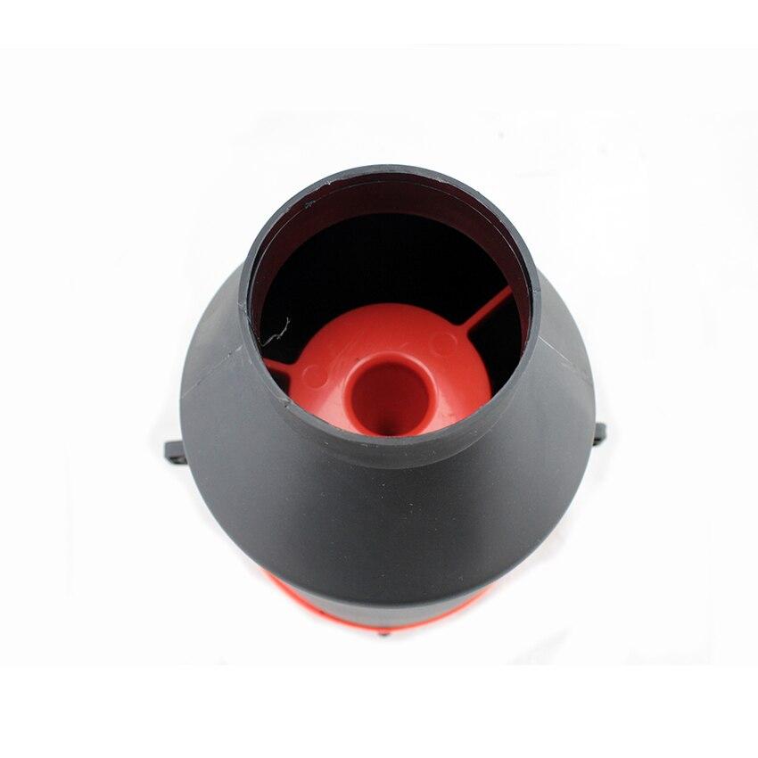 Kit di flusso di potenza per tubo in alluminio per aspirazione aria auto da corsa universale per auto blu