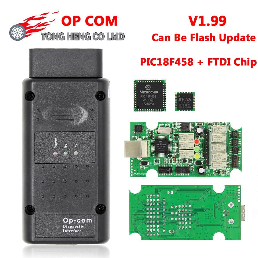 medium resolution of v1 99 op com pic18f458 ftdi chip firmware can be flash update op com diagnostic interface auto diagostic tool for opel opcom