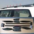 Barre de bagages de porte bagages de toit 1998 2007 style de voiture pour Lexus LX470 et Toyota Land Cruiser 100 LC100 J100 accessoires|Chrome décoratif| |  -