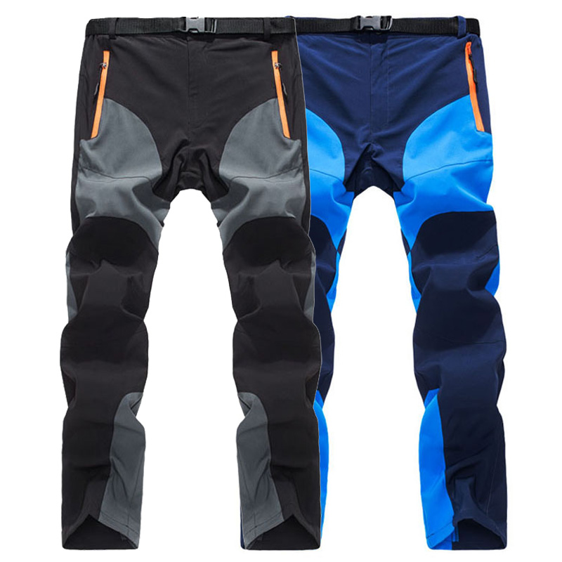 LoClimb Summer Ultra-Thin Outdoor Camping Hiking Pants Men Trekking Sport Шалбар Men Mountain Climbing Жылдам Ыстық шалбар, AM109