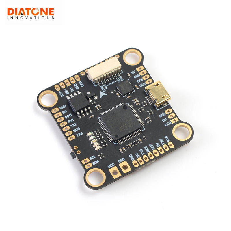 Diatone <font><b>Mamba</b></font> Fury F4 <font><b>F405</b></font> <font><b>mini</b></font> Flight Controller Betaflight STM32 MPU6000 OSD Built-in 5V/2A BEC F4 RC Models Multicopter Accs image
