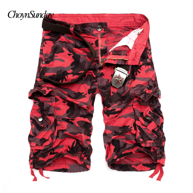 New Camouflage Loose Cargo Shorts Men Cool Summer Military Camo Short Pants Men Casual Brand Cotton Plus Size popular short C magnetic attraction bluetooth earphone headset waterproof sports 4.2