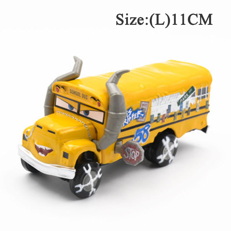Pixar Cars3 Miss Fritter Black Jackson Storm Smokey Diecasts Metal Alloy Car Toys For Children Gifts