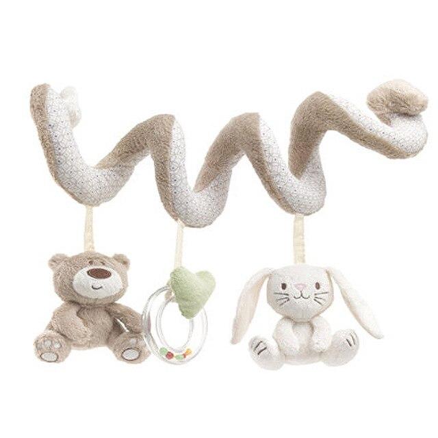 Кэндис го плюшевые игрушки куклы милый медведь кролик банни детские погремушки мобильные кровать круг круглый день рождения подарок рождественский подарок