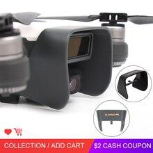 Обновленная Антибликовая Защита для камеры DJI Spark, Защитная крышка для объектива, защита от солнца, защита от солнца для DJI Spark, аксессуары для дрона