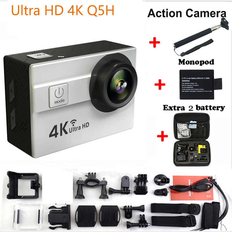ФОТО Ultra HD 4K WiFi Action Camera 2.0