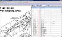 Robex 2015 electronic spare parts catalog Cranes, Excavators for Hyundai