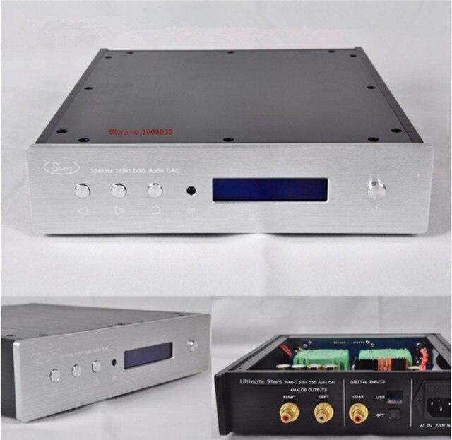 R-028 XMOS U208 Dual AK4495SEQ AK4118 DAC AK4495 DAC 32bit 384 K DSD DAC W/RC, TALEMA XMOS XU208  110 V/220 V AC digital Source
