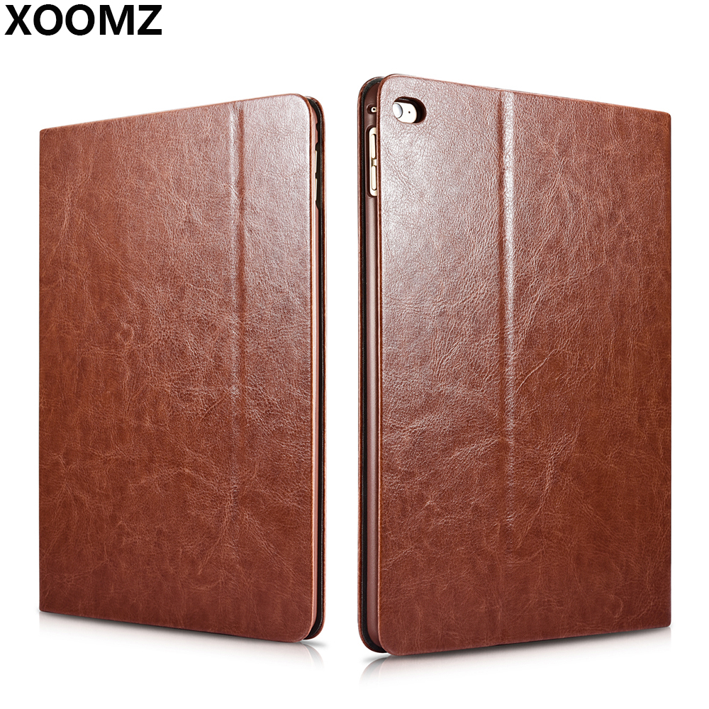 XOOMZ For iPad Air 2 Case Cover Luxury Soft PU leather Shockproof Hard Plastic Magnetic Stand Smart Flip Case for iPad Air 2 leather case flip cover for letv leeco le 2 le 2 pro black