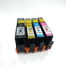 einkshop 178XL Compatible Ink Cartridge Replacement For HP 178 xl DeskJet 3070A 4610 4620 Photosmart 5510 5520 6520 Printer
