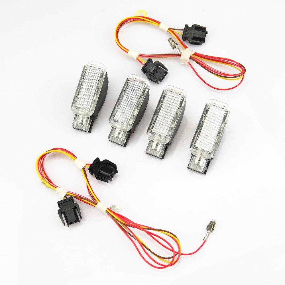 TUKE Interior Do Carro Lâmpada Tronco luz de Advertência + Fio 8KD947415C 8KD 947 415 C Para A4 A3 A5 A6 S6 a8 Q5 Q7 R8 Yeti VW Phaeton Sharan
