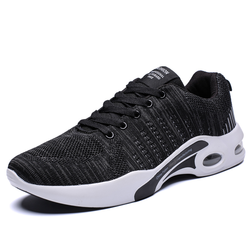 New Men Casual Shoes Breathable Flyknit tenis masculino Shoes Zapatos Hombre Sapatos Sneakers Men Lace Up Shoes