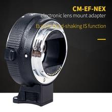 AF Автофокус электронный переходное кольцо EF-NEX для Canon EF штык объектив передачи Sony NEX тела поддерживает полный кадр Камера A7/A