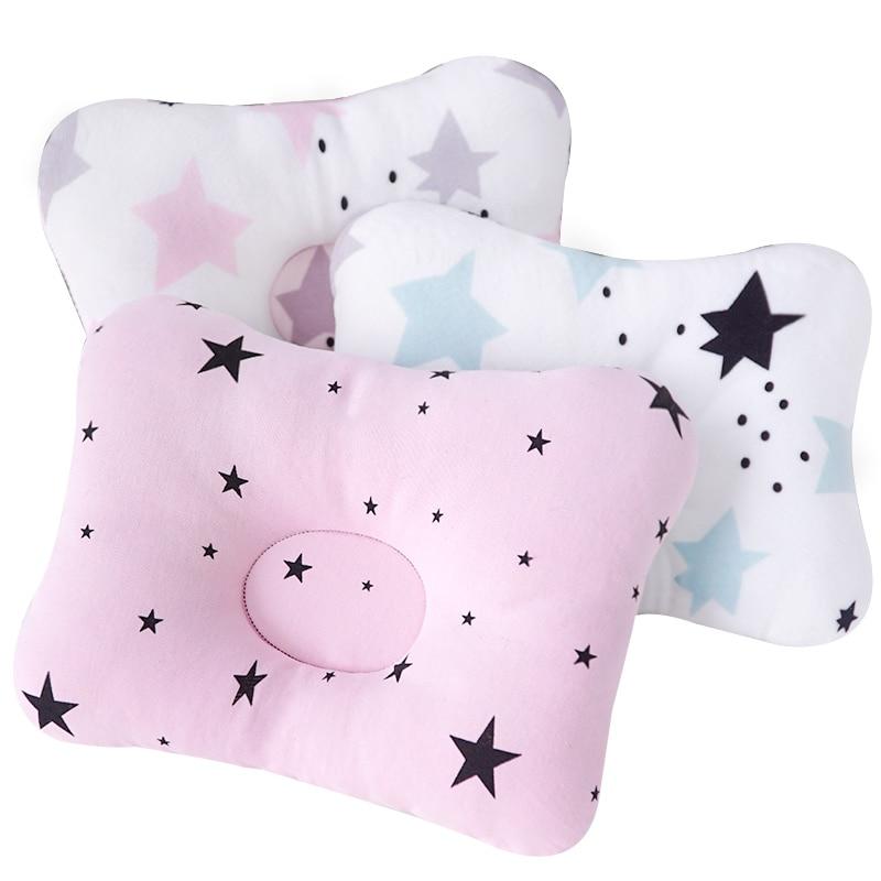Muslinlife 1Pcs Bedding Baby Kids Pillow Anti Roll Sleeping Pillow Neck Head Baby Pillow Multifunctional Dropship