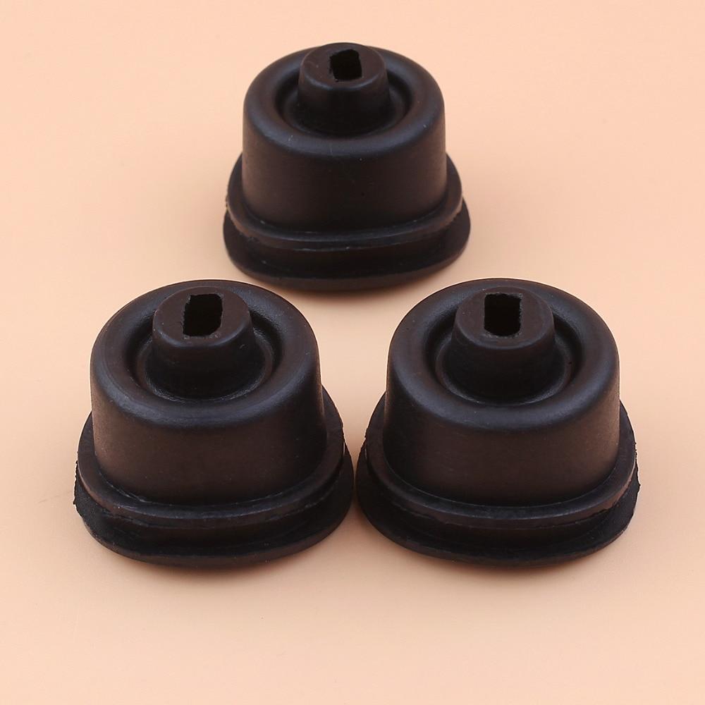 3Pcs/lot Crankcase Crank Throttle Bellow Fit HUSQVARNA 61 66 266 268 272 272XP 272S 268K Chainsaw Parts