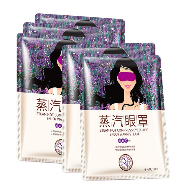 HOT BIOAQUA Lavender Soothing Steam Anti Wrinkles Moisturizer Remove Dark Circles Relieve Eye Fatigue Men/women Skin Care