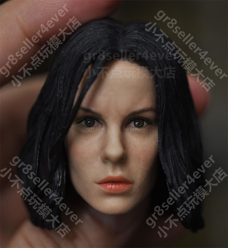 1/6 female Head Sculpt for 12 Action Figure body doll Toys soldier head model toy Kate Beckinsale night legend vampire Selena 1 6 female head for 12 action figure doll accessories marvel s the avengers agents of s h i e l d maria hill doll head sculpt