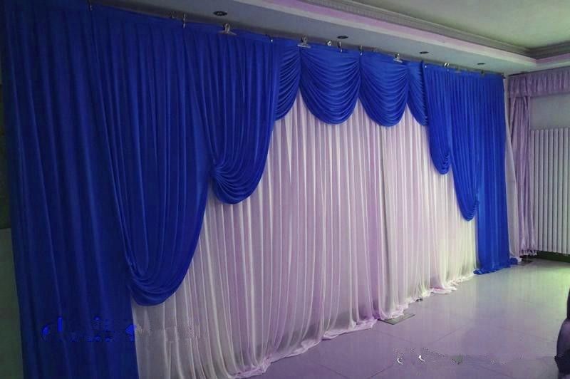 New Romantic Wedding Backdrop with Swags Party Celebration Stage Wall Background Curtain CR-278New Romantic Wedding Backdrop with Swags Party Celebration Stage Wall Background Curtain CR-278