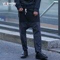 VIISHOW Moda Patchwork Calças Dos Homens Hip Hop Moletom Harem Pants Homens Para Homens calças moletom calça casual