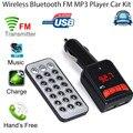Levert DropshipBinmer Sem Fio Bluetooth LCD Kit Car MP3 Player Transmissor FM Modulator USB SD Remoto szFeb07