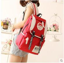 Повседневная плечи мужчин и женщин рюкзак Япония и Южная Корея тенденция ткань Оксфорд сумка колледж ветер путешествия сумки для компьютера