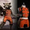 Custom Made Guardians of the Galaxy Rocket Raccoon Costume Adult Movie Halloween Cosplay Costume Plus Size